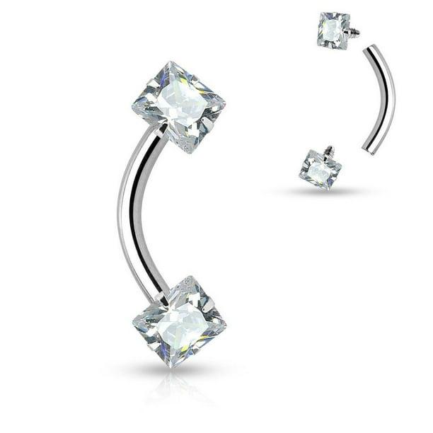 Eg Gifts Eyebrow Rook Jewelry Internally Threaded 16g 5 16 Quot