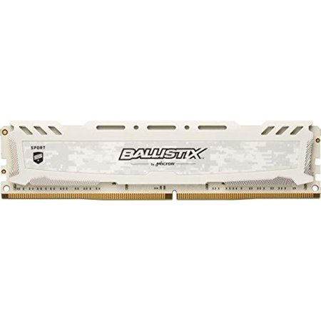 Low Halogen Udimm Memory (ballistix sport lt 4gb single ddr4 2400 mt/s (pc4-19200) dimm 288-pin - bls4g4d240fsc (white) )