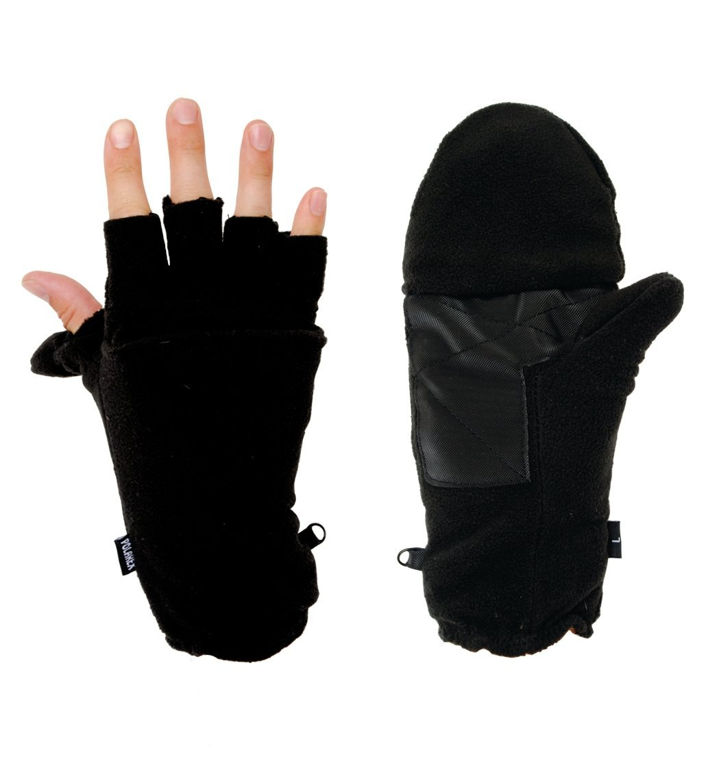 Hot Headz Polarex Glomitts Glove, Black, X-Large by Hot Headz