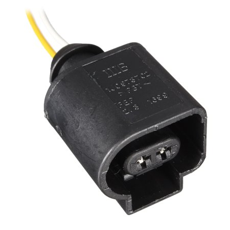 1/2/4 X  Electrical Harness 2 Pin Connector Plug Wiring for VW Audi  - image 4 of 5