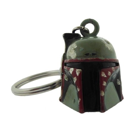 Star Wars Key Chains Boba Fett Head Logo Metal Fragile Rock Rebel George Lucas Metal Silver](Silver Rock)