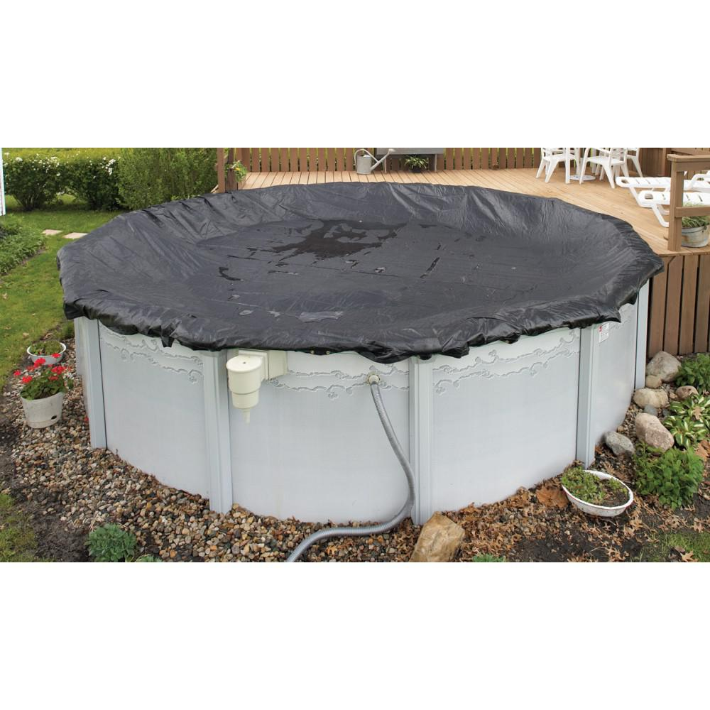 BlueWave WC602 Above-Ground 8 Year Mesh Winter Cover For 16' Round Pool