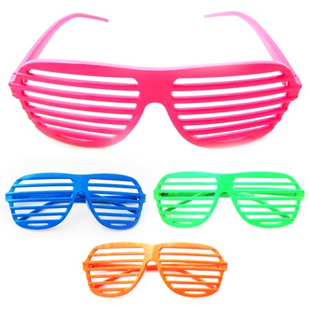Vintage Shutter Shades Sunglasses Retro Glasses Party Supplies Novelty - Birthday Sunglasses