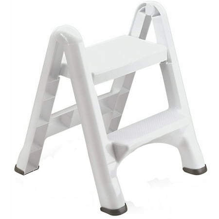 Strange Rubbermaid Folding 2 Tier Step Stool Caraccident5 Cool Chair Designs And Ideas Caraccident5Info