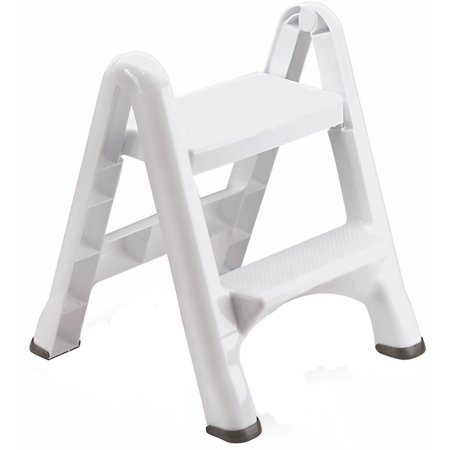 Astounding Rubbermaid Folding 2 Tier Step Stool Machost Co Dining Chair Design Ideas Machostcouk