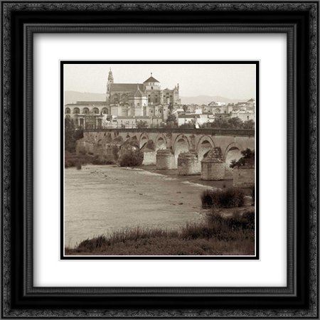 España - 6 2x Matted 20x20 Black Ornate Framed Art Print by Blaustein, Alan