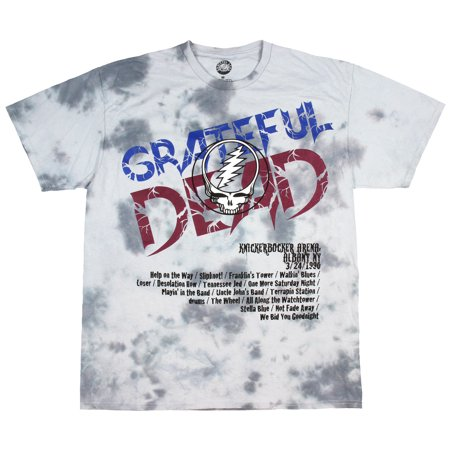 Grateful Dead Shirt Tie-Dye 1990 Spring Tour Albany, New York