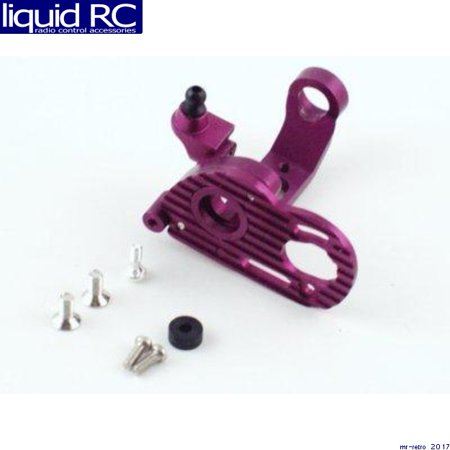 GPM Racing MH1307 HPI Micro RS4 Purple Aluminum Motor Mount W Heat