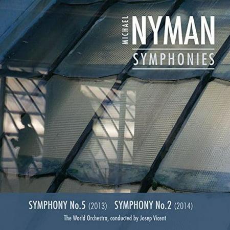 Michael Nyman: Complete Symphonies I - Nos 5 & 2 (CD)