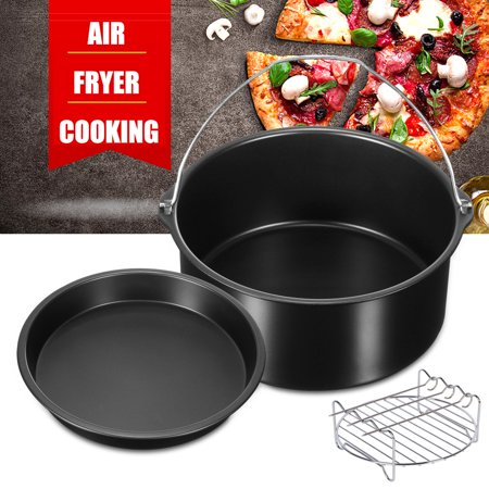 6 Piece Air Fryer Cooking Amp Baking Accessory Pack Set