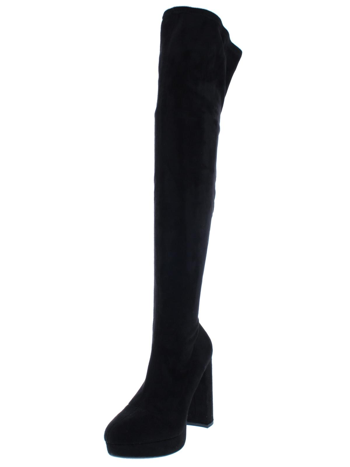 Madden Girl Womens Groupie Over-The-Knee Boots