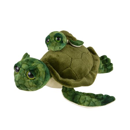 Plush Birth of Life Sea Turtle and Baby Toy Stuffed Animal - Stuffed Animal Turtle