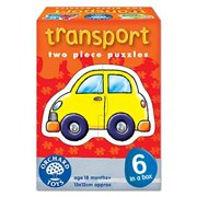 Transport 2-Piece Puzzles