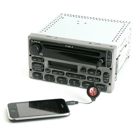 2004 ford explorer radio aux input