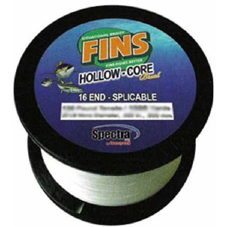 Fins Spectra Hollow Core White Fishing (Spectra Fishing Line)