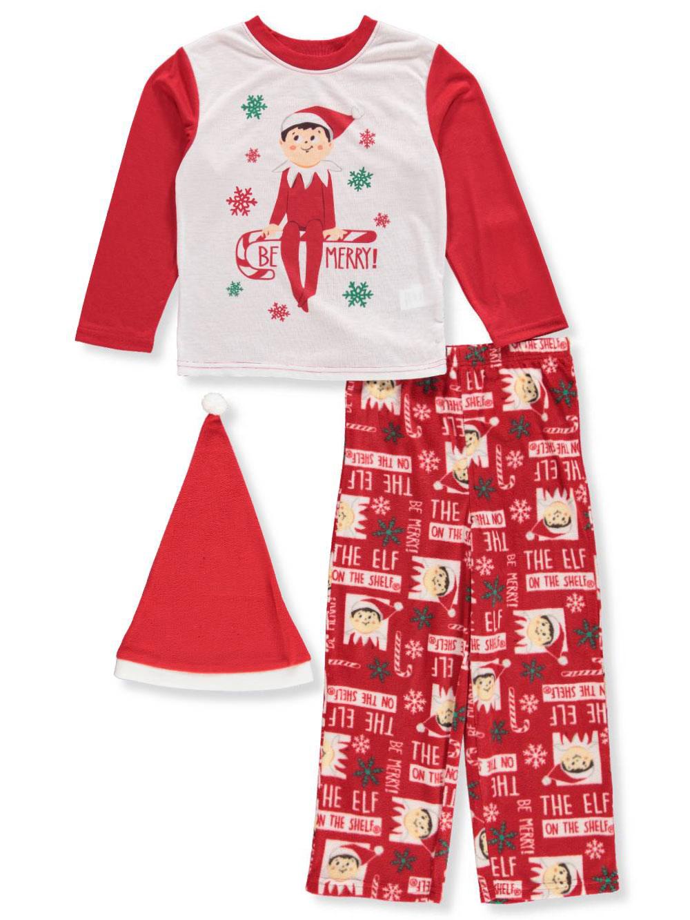 Elf on a Shelf Boys' 2-Piece Pajamas with Hat