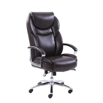 Serta Big & Tall Office Chair with Memory Foam, Adjustable