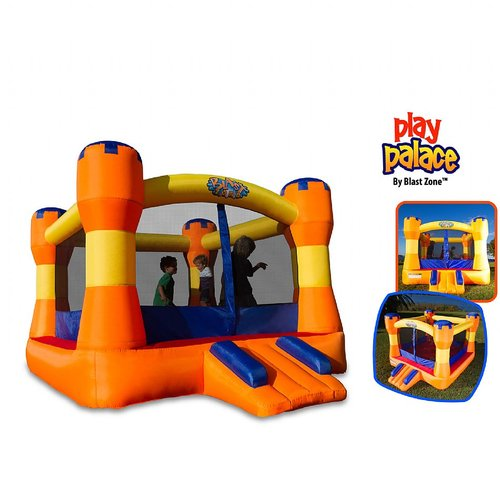 Blast Zone Play Palace Bounce House