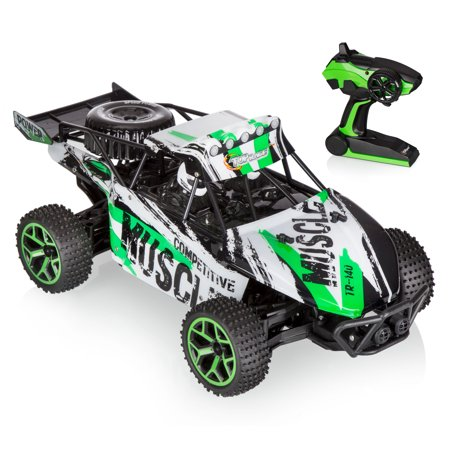 Top Race Remote Control Off Road Racer, RC Monster Truck 4WD, Off Road High Speed Mountain Truck, 2.4Ghz (TR-140) by Top Race - Rake Monster