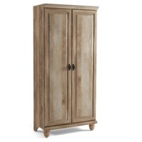 Better Homes and Gardens Crossmill Storage Armoire, Weathered Finish