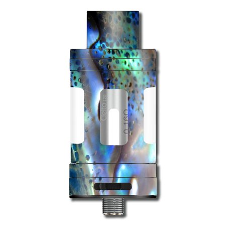- Skin Decal For Aspire Cleito 120 Vape Mod / Abalone Pearl Sea Shell Green Blue