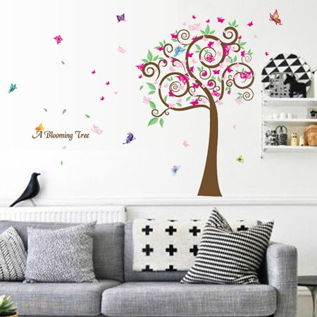 Fashionhome Adhesive Cute Cartoon Wall Stickers Bedroom Living Room Hall Way Decals Home Wall Diy Decors Walmart Canada