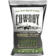 Cowboy 20LB Charcoal and Hickory Wood Pellets