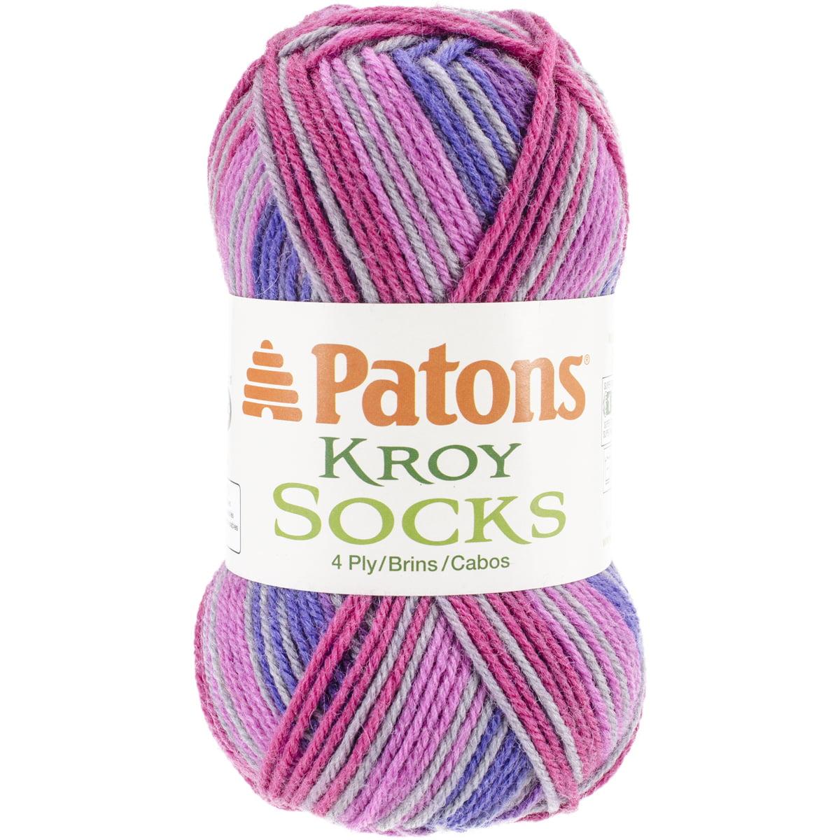 Kroy Socks Yarn-Purple Haze Stripes