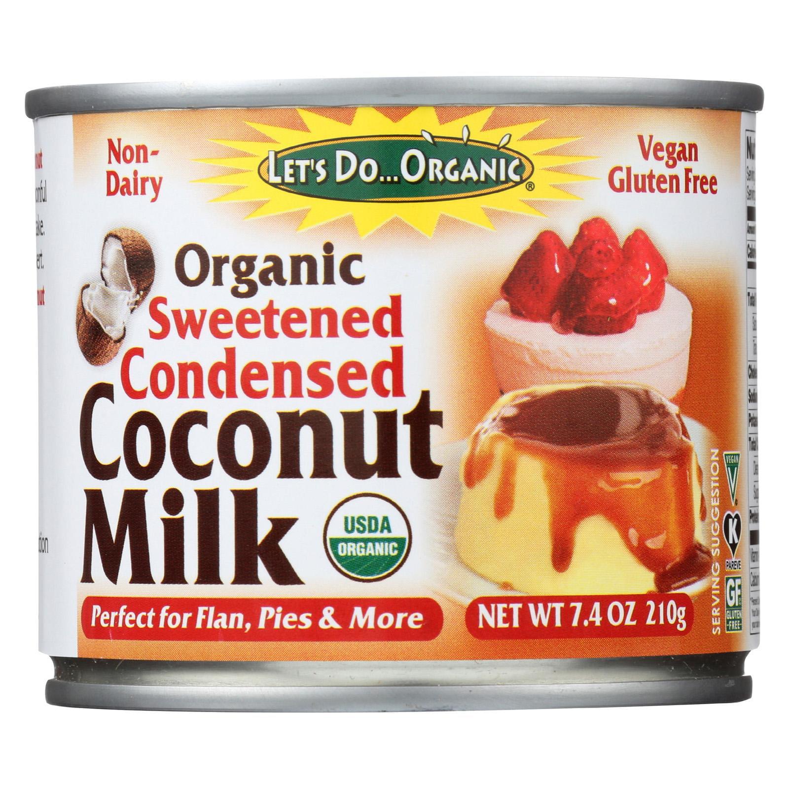 Edward & Sons Trading Lets Do Organic  Coconut Milk, 7.4 oz