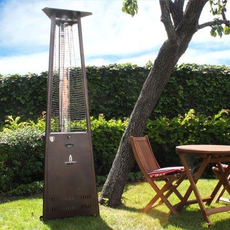 Lava Heat Liquid Propane Gas Patio Heater Remote Control Bronze