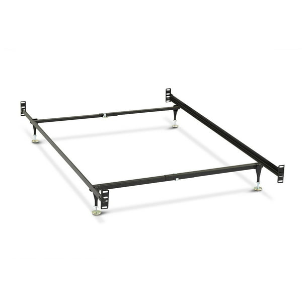 Metal Bed Frame Full Twin Size, Queen To King Bed Frame Conversion Kit