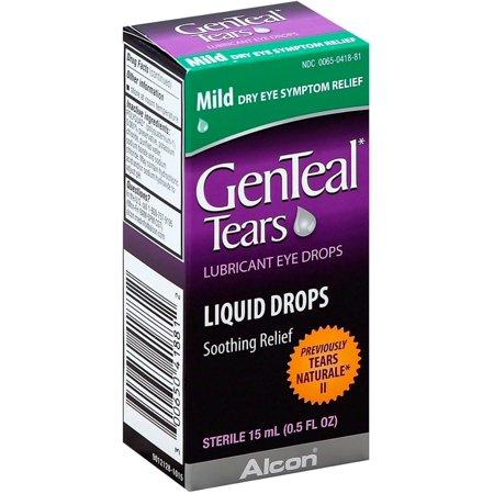 GenTeal Tears Lubricant Eye Drops 0.50 oz (Pack of 4)
