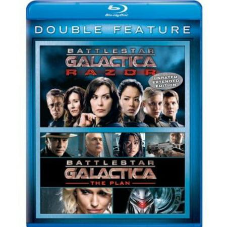 Battlestar Galactica  Razor   Battlestar Galactica  The Plan  Blu Ray