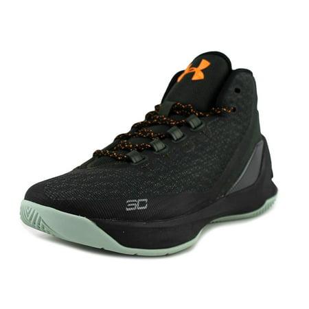 8e32d64a5464 Under Armour - Under Armour GS Curry 3 Youth Round Toe Canvas Black  Basketball Shoe - Walmart.com