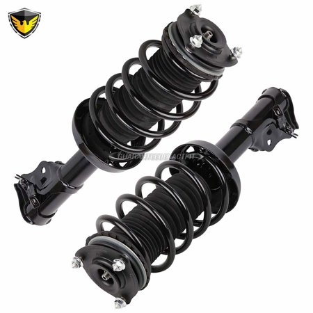 Pair Duralo Front Strut Spring Assembly For Honda Civic 2006-2011