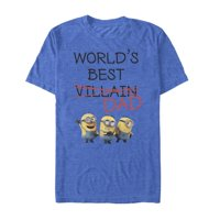 Despicable Me Men's Minions World's Best Villain Dad T-Shirt