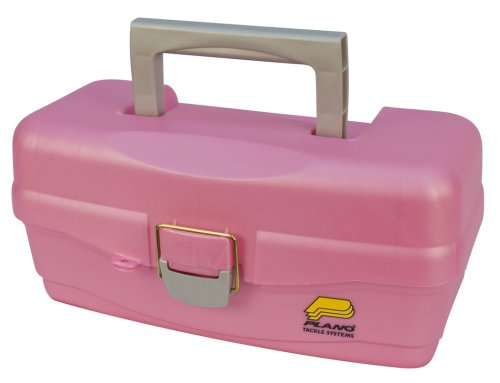 Plano Synergy 500089 Tackle Box, Youth, Pink by Plano Molding