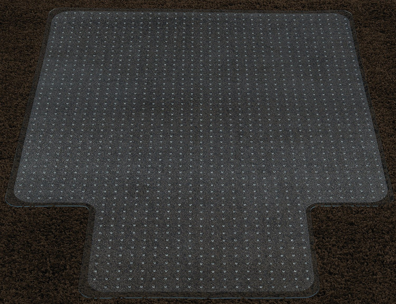 Ottomanson Carpet Plastic Chair Mat With Lip Clear 36 Quot X48