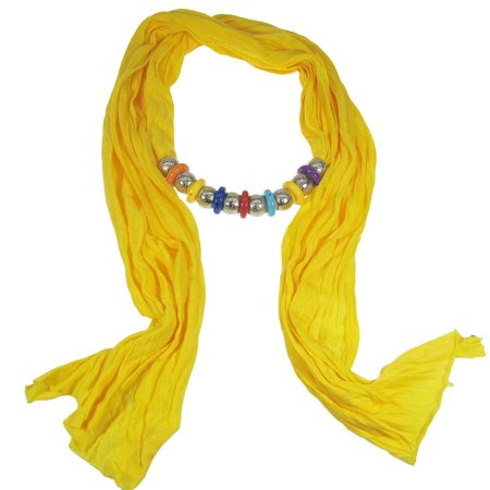 Bohemian Style Beads Jewelry Scarf
