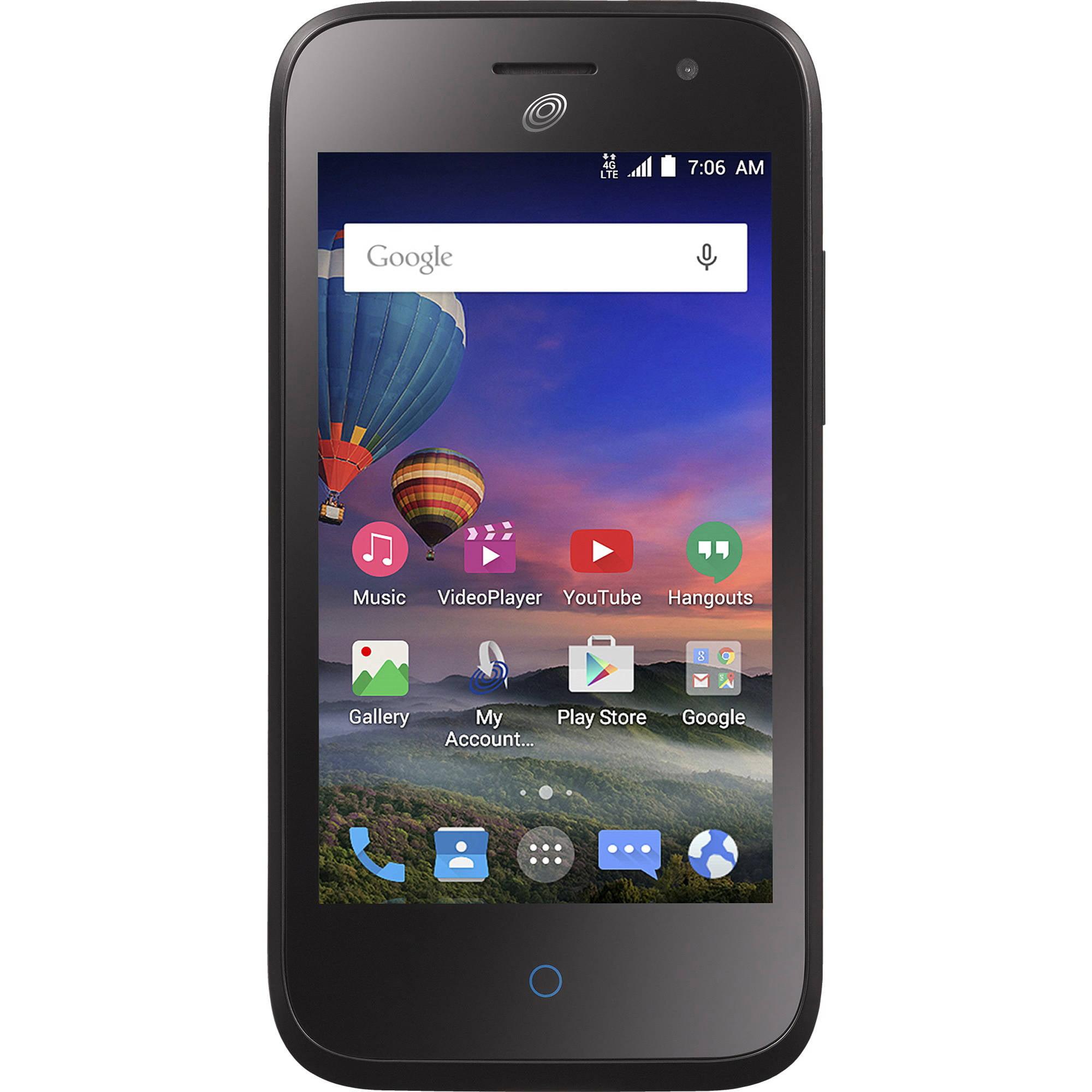 TracFone ZTE Citrine LTE 4G LTE CDMA Prepaid Smartphone