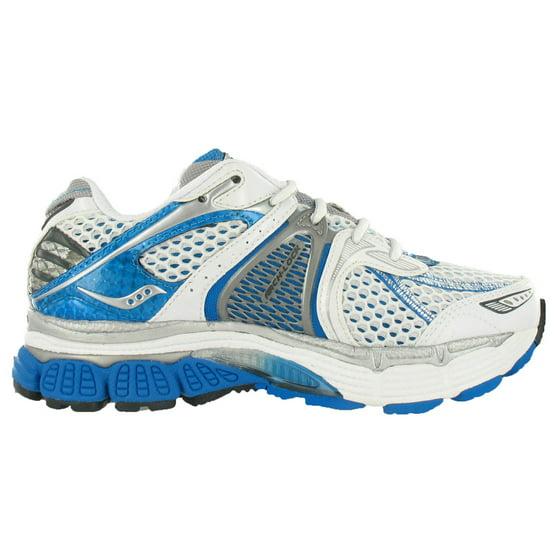 3aafa4d7559f Saucony - Saucony Progrid Triumph 7 Wide Womens Shoes White aqua silver  Size - Walmart.com