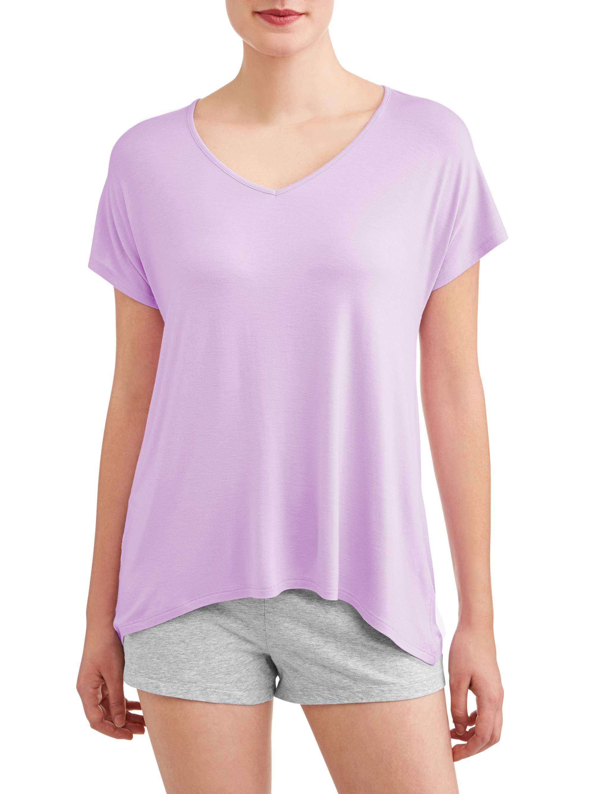 Secret Treasures Essentials Women's Dolman Sleeve Sleep Tee