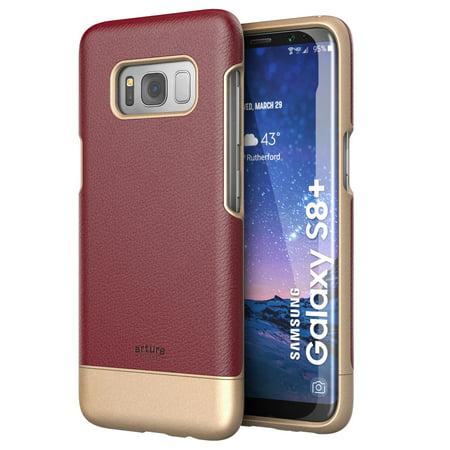 Galaxy S8 Plus (S8+) Premium Vegan Leather Case - Artura Collection By -