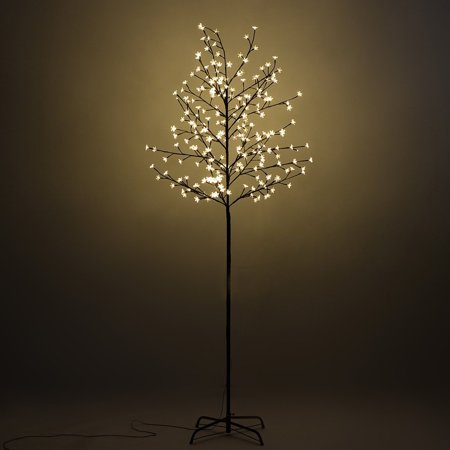 Perfect Holiday 3ft 60 LED Cherry Blossom Tree - Warm White ()