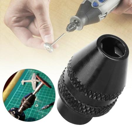 Dremel Keyless Drill Chuck Rotary Bits Drills Tools Accessories 0 4mm 3 4mm For 212 225 575 4000