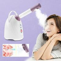 EOTVIA Ionic Spraying Machine, Skin Steamer,Hot/Cool Ionic Facial Steamer 360° Ionic Spraying Thermal Treament for Beauty Salon Spa Use