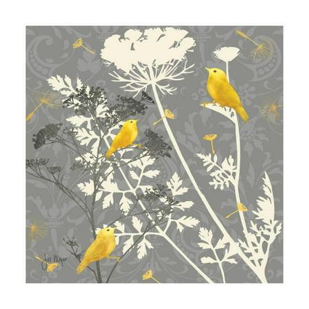 Gray Meadow Lace I Print Wall Art By Jill Meyer