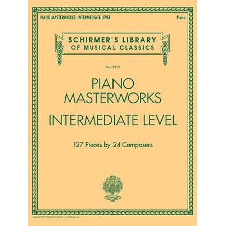 Piano Masterworks - Intermediate Level : Schirmer's Library of Musical Classics Volume 2110 (Halloween Piano Music Intermediate)