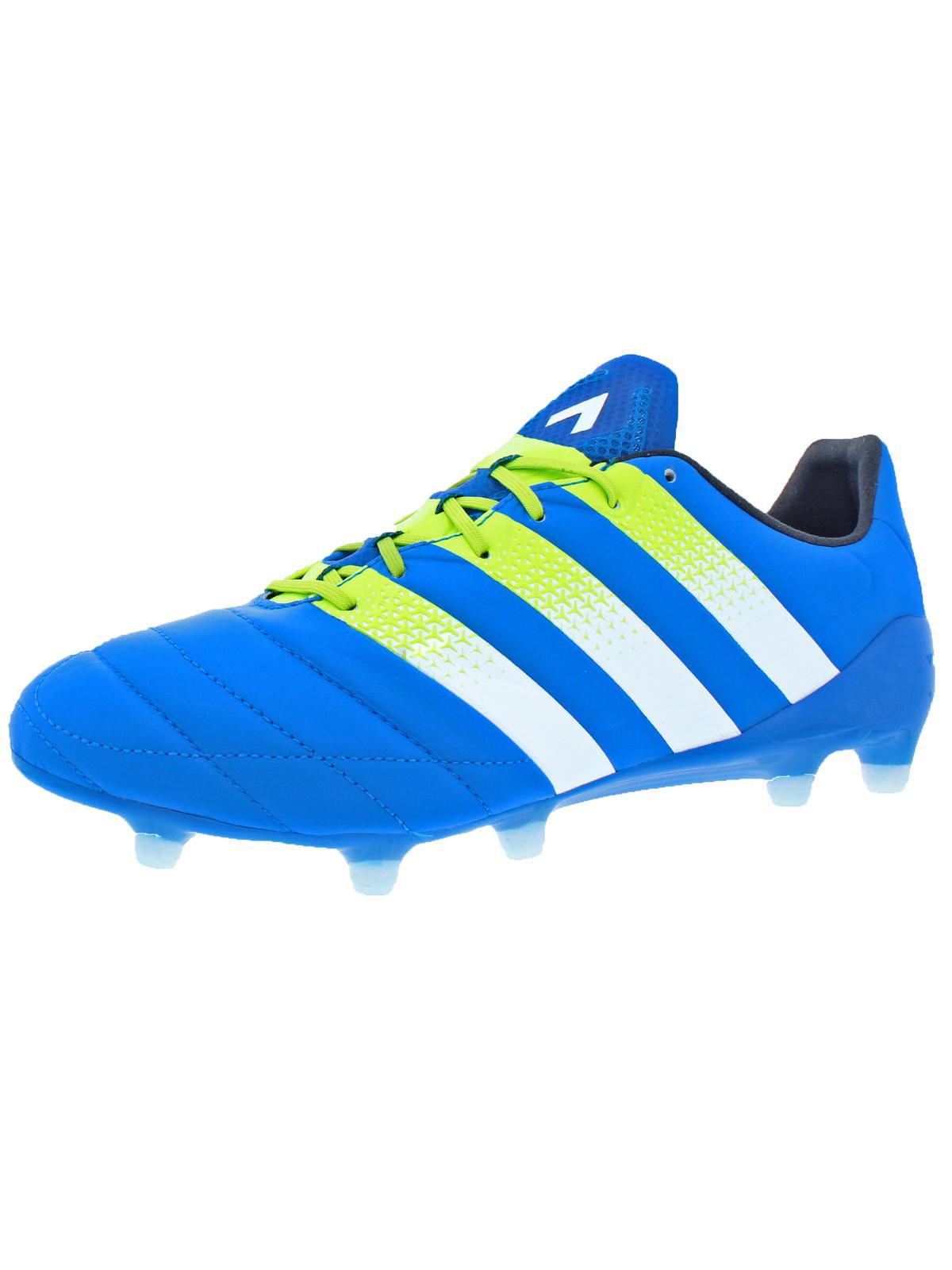 Adidas Mens Ace 16.1 FG AG Soccer Performance Soccer Shoes Blue 8.5 Medium (D) by Adidas
