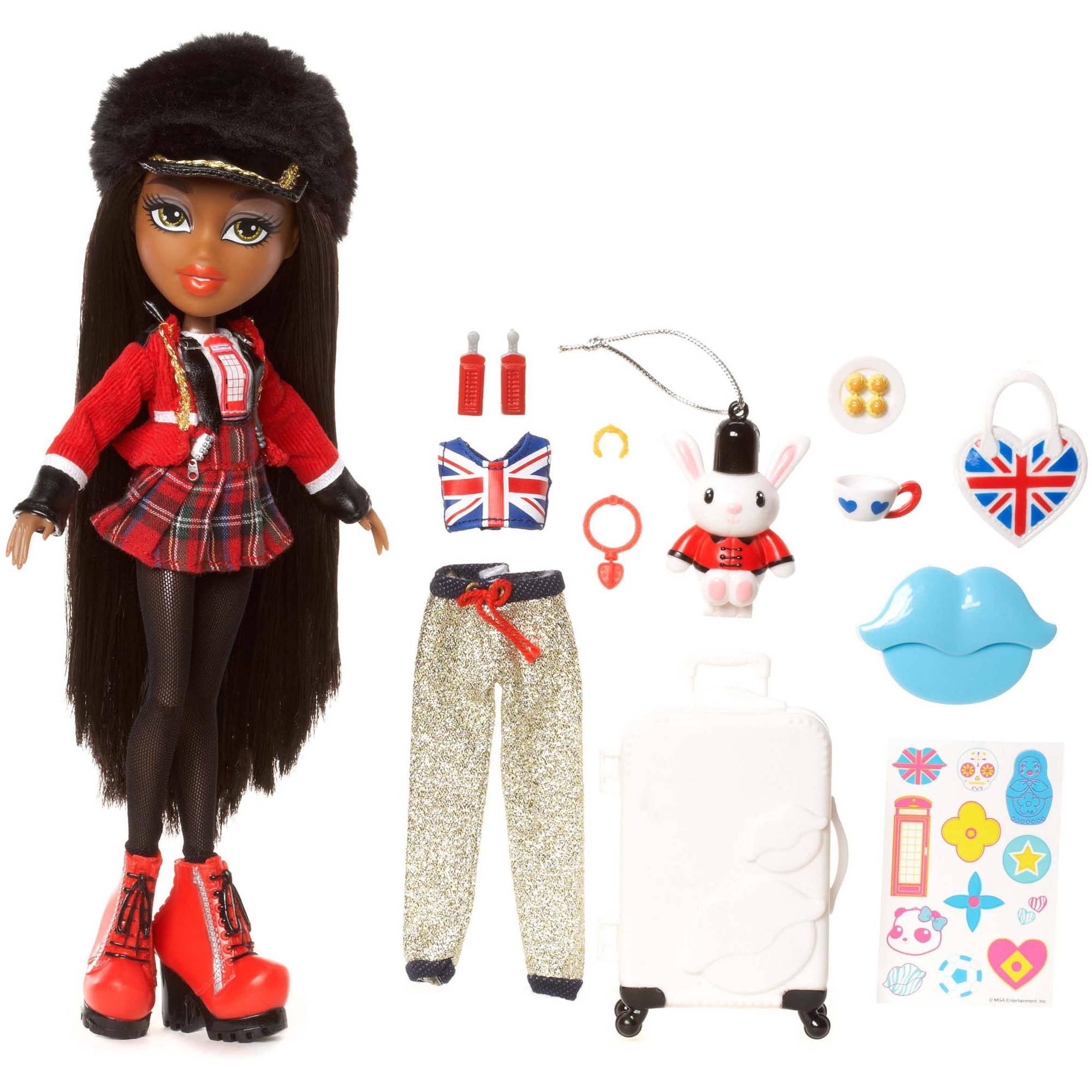 Bratz Study Abroad Doll, Sasha to UK by MGA Entertainment